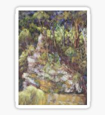 Ellenborough River - plein air Sticker