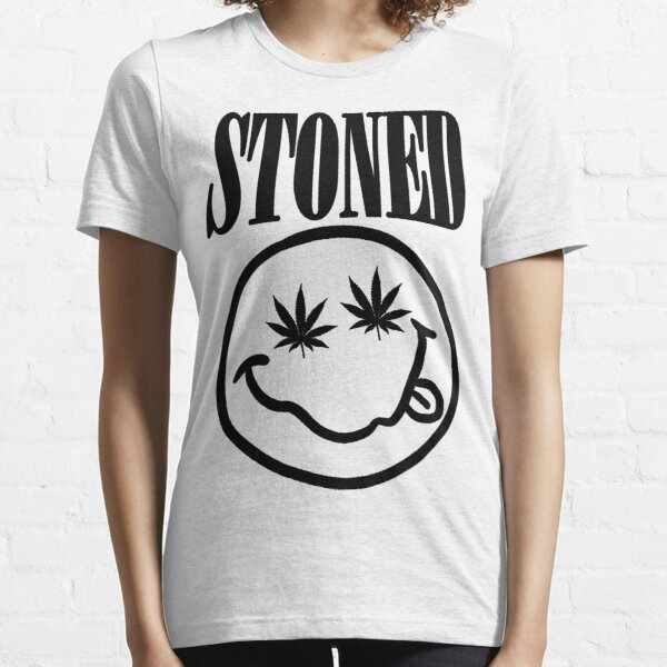 Stoned - black on white Essential T-Shirt