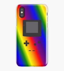 Gameboy Iphone Case Rainbow iPhone Case/Skin