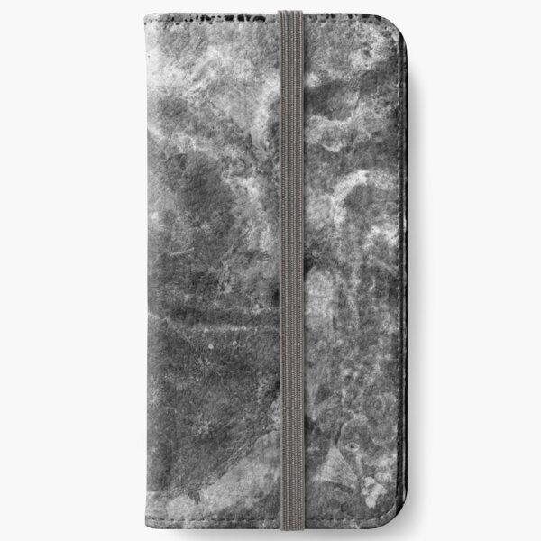 The Atlas of Dreams - Plate 24 (b&w) iPhone Wallet