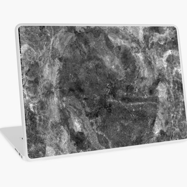 The Atlas of Dreams - Plate 24 (b&w) Laptop Skin