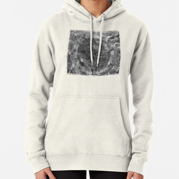 The Atlas of Dreams - Plate 24 (b&w) Pullover Hoodie