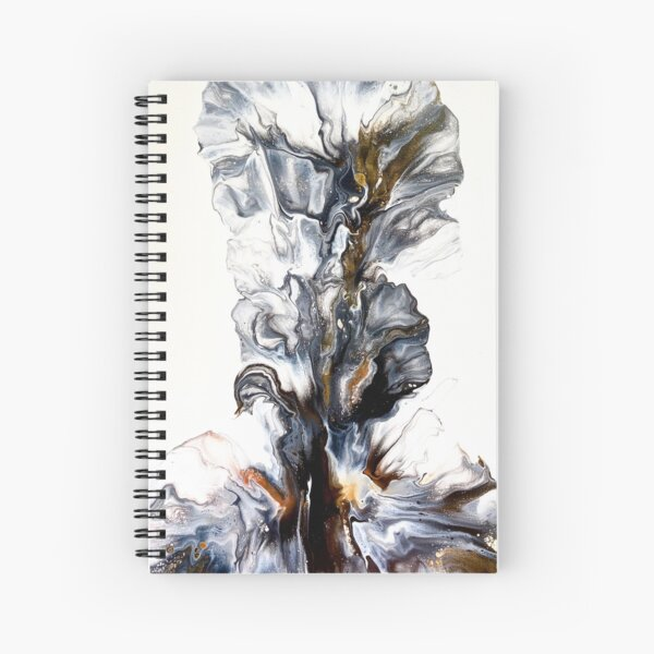 UPRISING - Dutch Pour Art  Spiral Notebook