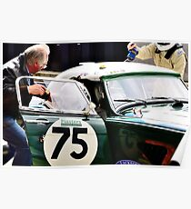 Austin Healey No 75 Poster