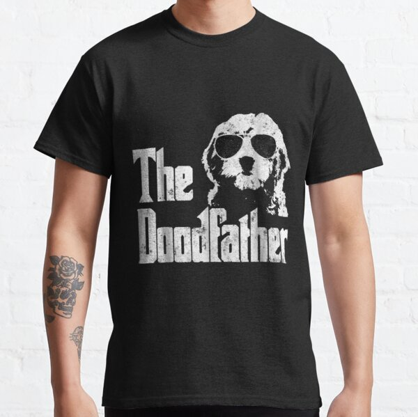 Goldendoodle Dad - The Doodfather Gift Classic T-Shirt