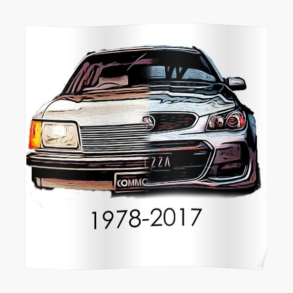 RIP Holden Commodore Poster