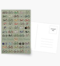 Fifty Bicycles Postcards