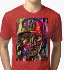 YANKEE BAZEBALL Tri-blend T-Shirt