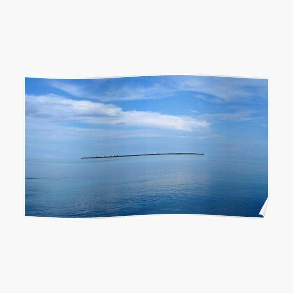 Pulau Reni at Midday Poster