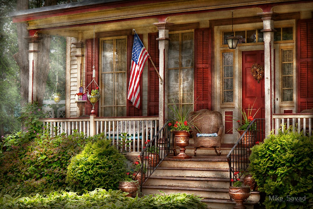 House porch belvidere nj a classic american home for American classic house