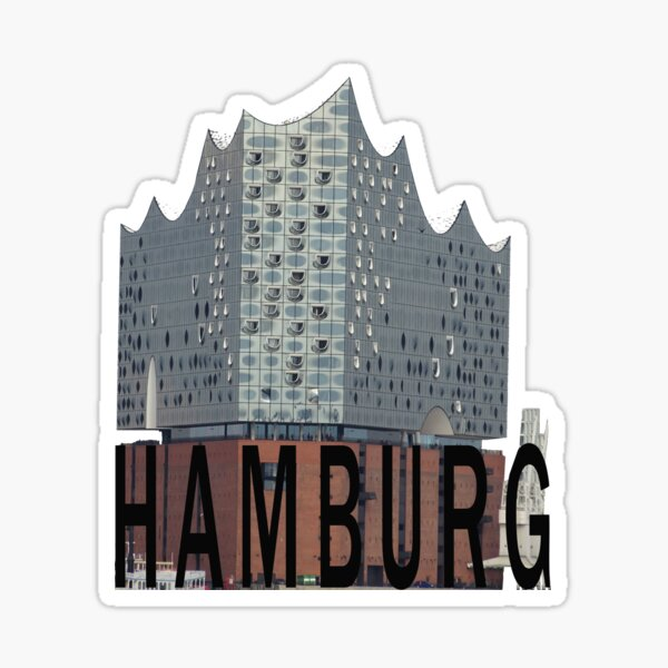 Hamburg Elbphilharmonie Elphi Sticker