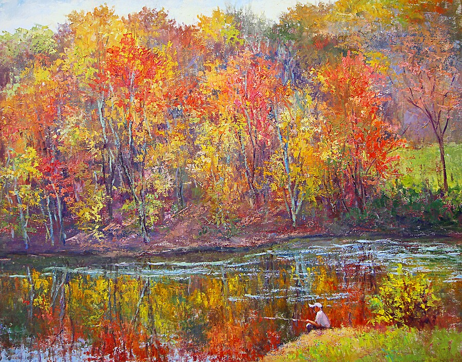 Fall refelections by Julia Lesnichy