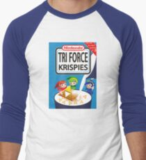 Tri Force Krispies Men's Baseball ¾ T-Shirt