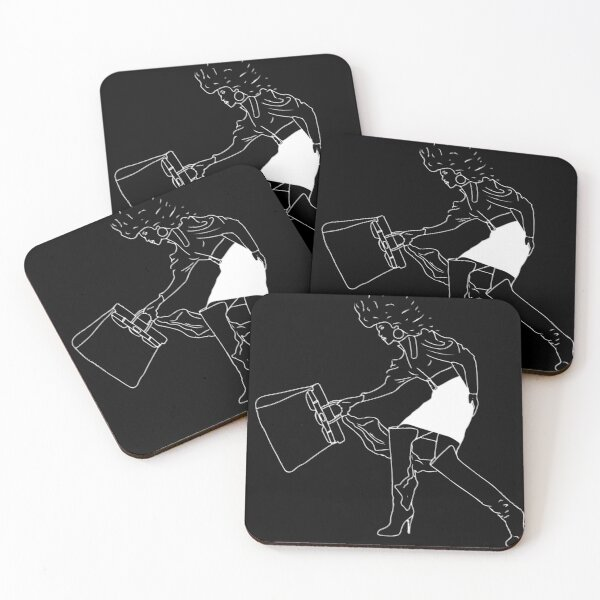 We have places to be. Coasters (Set of 4)