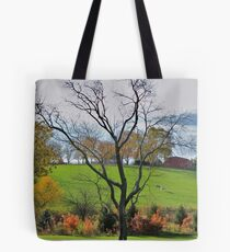 Fall on a  Kentucky Pasture Tote Bag