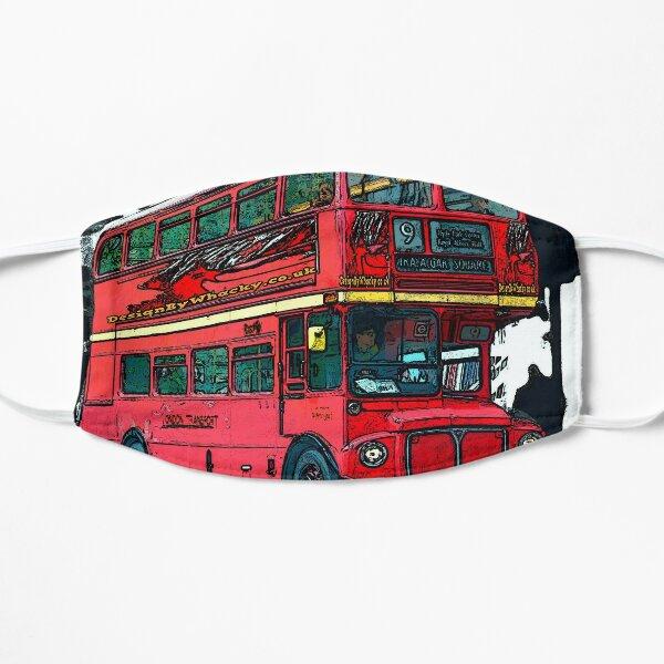London Bus bywhacky Flat Mask