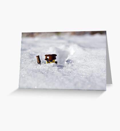 Deep Snow Greeting Card
