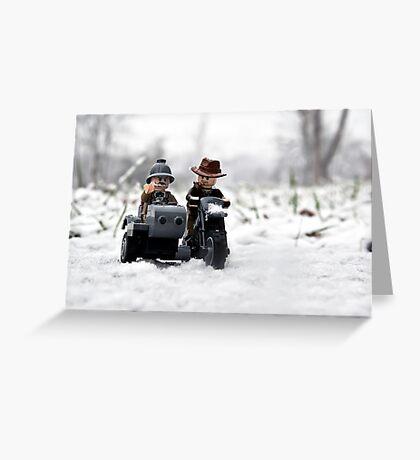 Sr. & Jr. Greeting Card