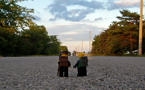 Hiker & Hitchhiker by Dan Phelps