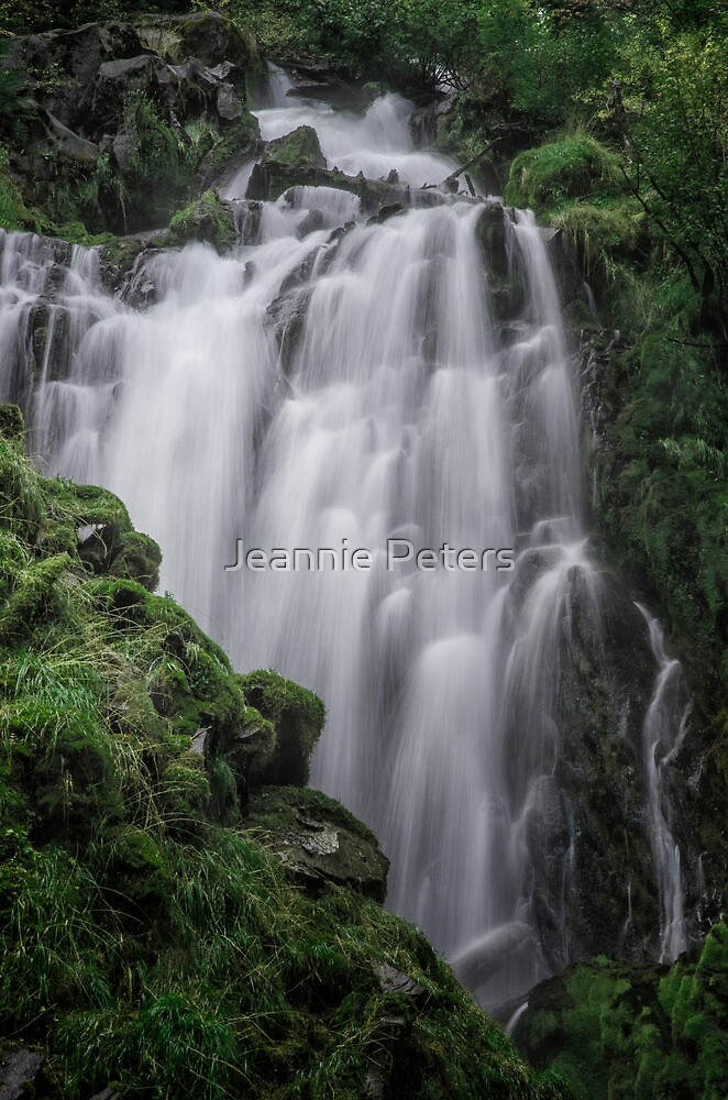 National creek falls by Jeannie Peters