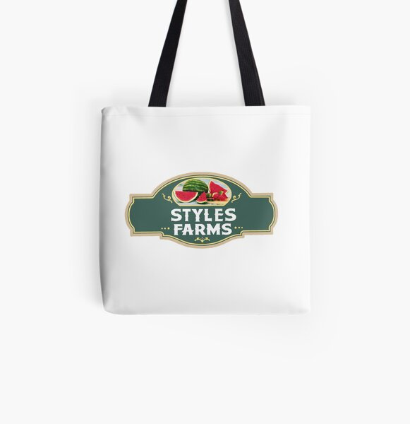 Harry Watermelon Farm Sign All Over Print Tote Bag