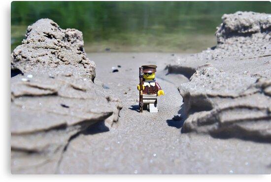 Hike the beach by Dan Phelps