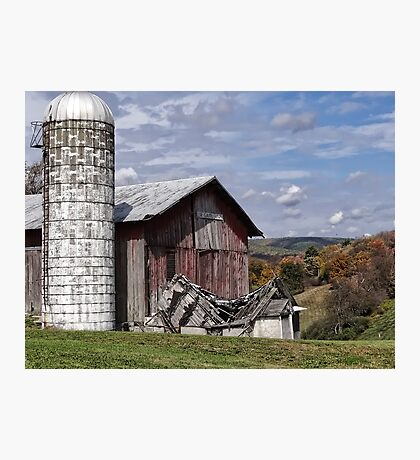 Old Barn and Beauty Photographic Print