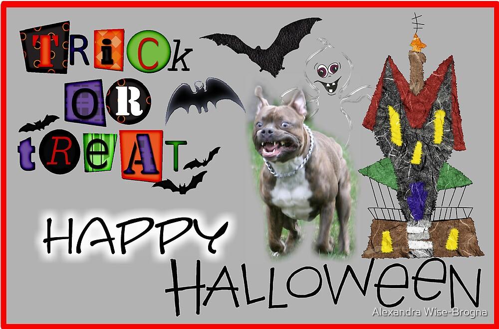 Happy Halloween by Alexandra Wise-Brogna
