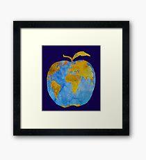 Earth Apple Framed Print
