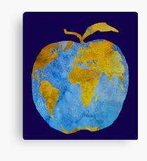 Earth Apple Canvas Print