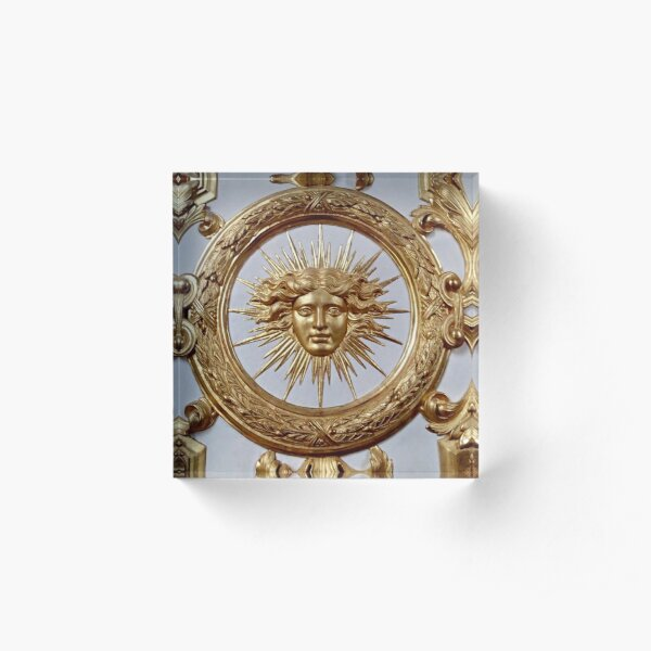 The Sun King Acrylic Block