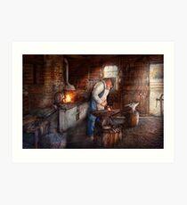 Blacksmith - The Smith Art Print