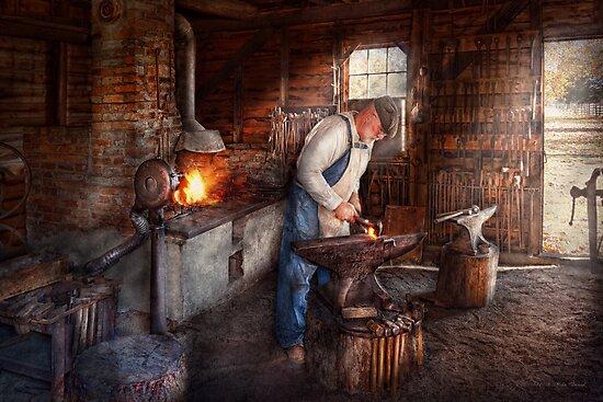 Blacksmith - The Smith by Mike  Savad