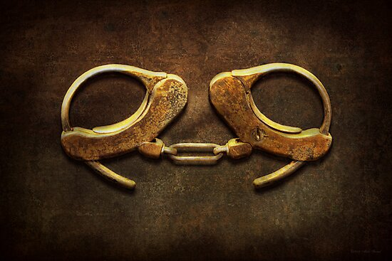 Police - Handcuffs aren't always a bad thing by Michael Savad