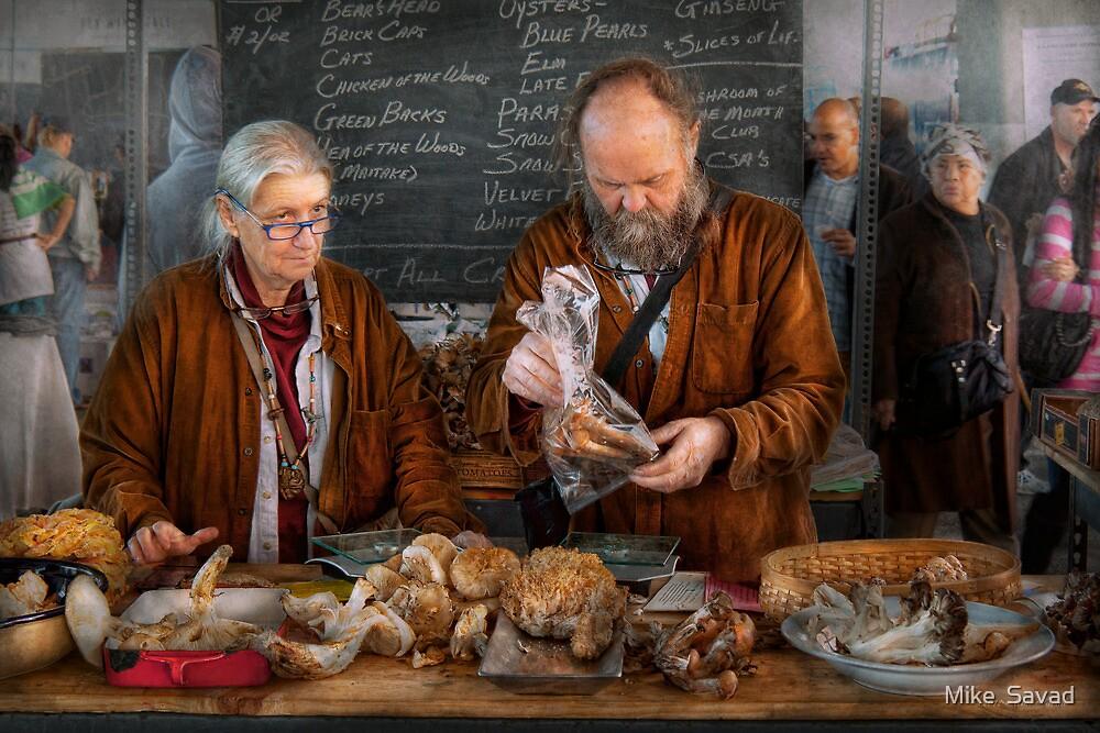 Bazaar - We sell fresh mushrooms by Michael Savad