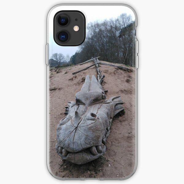 West Stow Dragon iPhone Soft Case