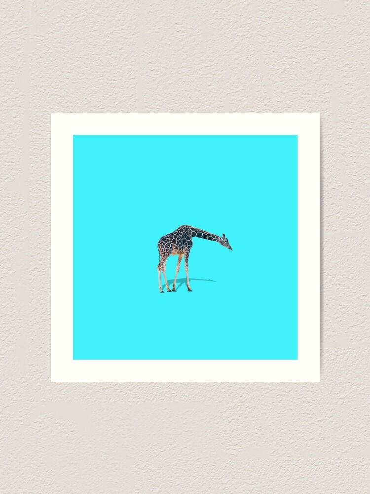 Alternate view of The Giraffe Art Print