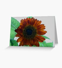 Burnished Sunflower Greeting Card