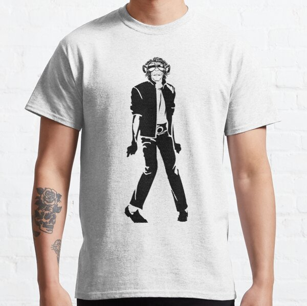 Michael Jackson Bubbles the Monkey Classic T-Shirt