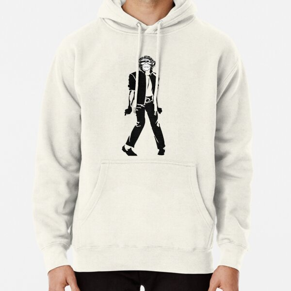Michael Jackson Bubbles the Monkey Pullover Hoodie