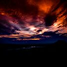 Sunset over Canberra by Tony Lin
