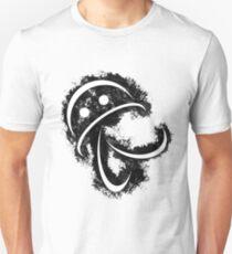 Antonio (white body on black) T-Shirt