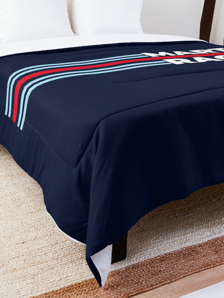 Alternate view of Martini Racing Comforter