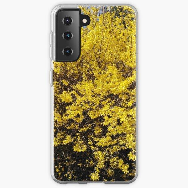 Yellow Bush Samsung Galaxy Soft Case