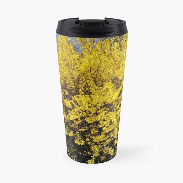 Yellow Bush Travel Mug