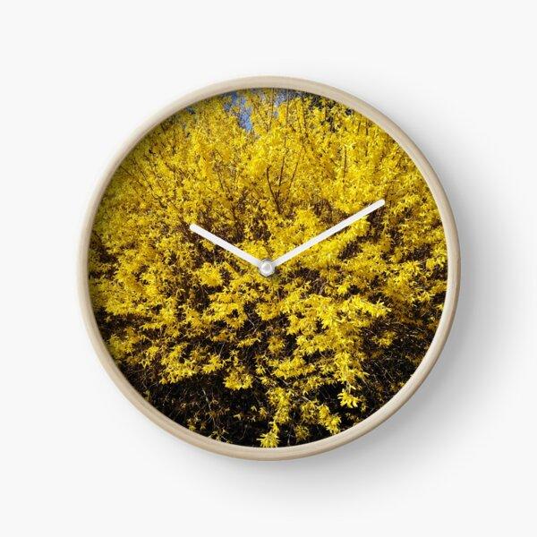 Yellow Bush Clock