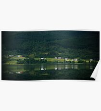 Hardangerfjord - View 2, Norway 2012 Poster