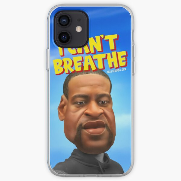 George Floyd memorial iPhone Soft Case