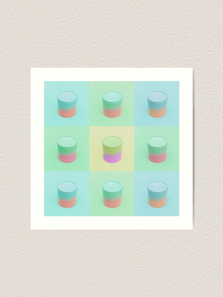 Alternate view of Soup cans Art Print