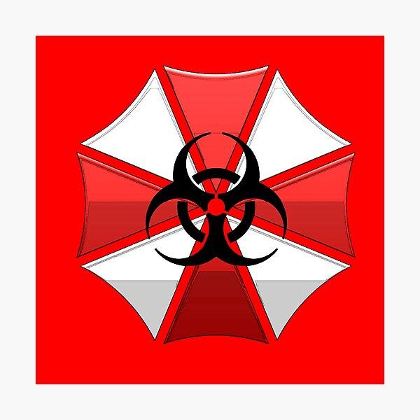 Resident evil Umbrella corp Photographic Print
